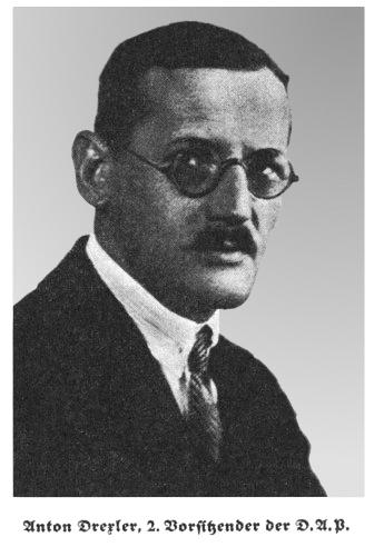 Anton Drexler (1884 - 1942) was een Duits antisemitisch politicus en nationaalsocialist.