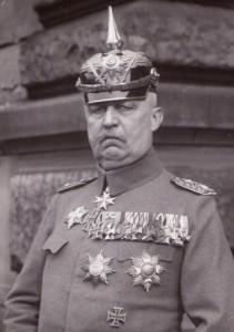 Erich Ludendorff Generaal (1865 – 1937)