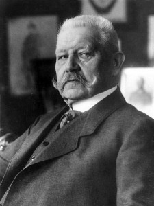 Paul von Hindenburg Fieldmarshal (1847-1934)