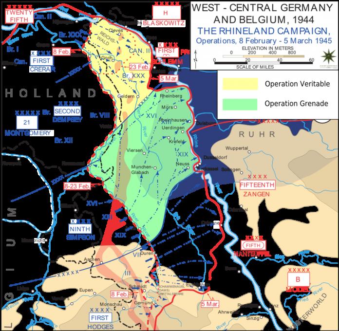 Schlacht im Reichswald
