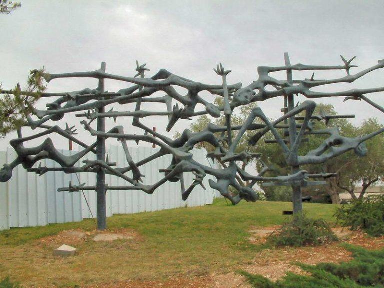 Israel-Yad Vashem Sculpture